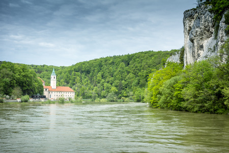 tightness: An image of the beautiful monastery Weltenburg in Bavaria Germany