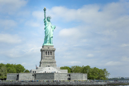 An image of the Statue of Liberty in New York