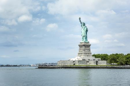 Een afbeelding van het Vrijheidsbeeld in New York Stockfoto