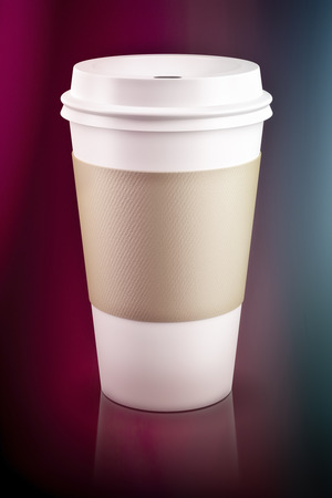 to go cup: An image of a coffee to go cup Stock Photo