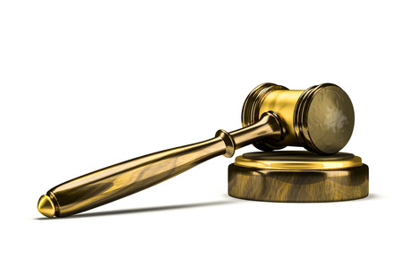 auction: An image of a wooden judge gavel