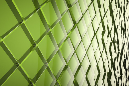 corporate buildings: An image of a nice abstract glass cubes background Stock Photo