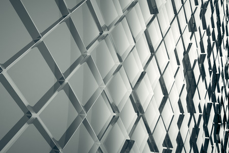 glass background: An image of a nice abstract glass cubes background Stock Photo