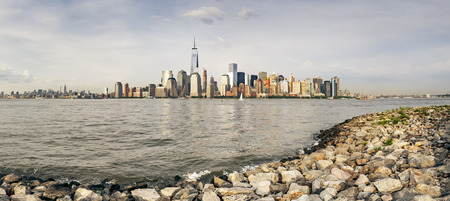 high rise buildings: An image of the high rise buildings of new york Stock Photo