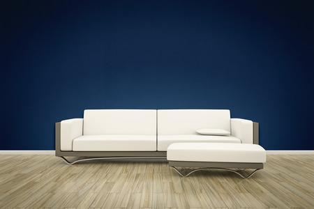 ソファー床背景