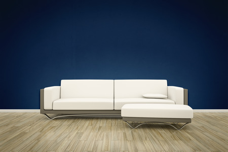 minimalist apartment: sofa floor background