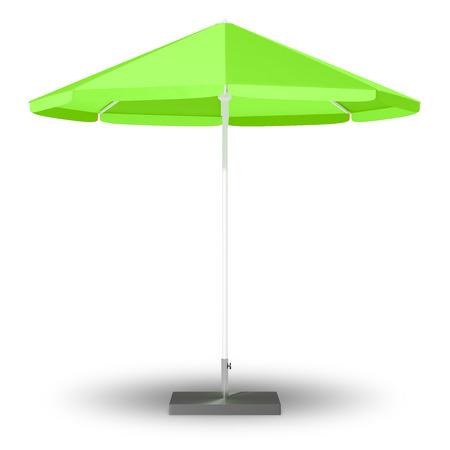 sun protection: An image of a sun protection umbrella Stock Photo