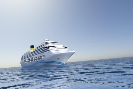 cruise ship: An image of a nice ocean cruise ship