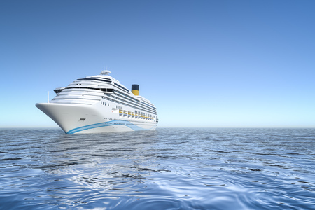 An image of a nice ocean cruise ship