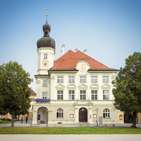 town hall: An image of the town hall Altoetting Bavaria Germany