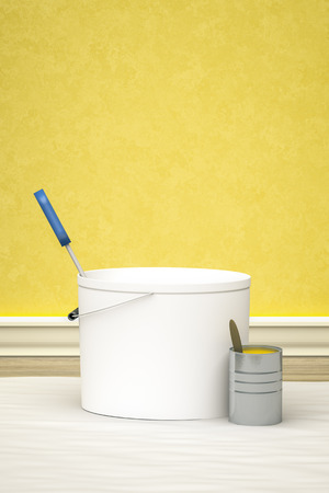 redecoration: An image of a bucket for redecoration