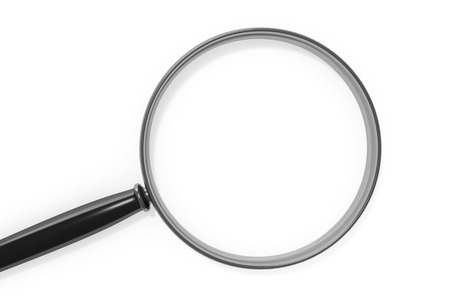 magnifying: An image of a magnifying glass with space for your content