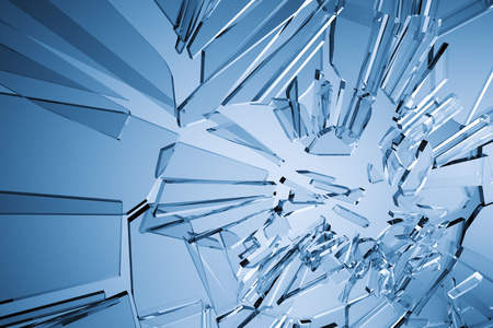 busted: An image of a stylish glass background