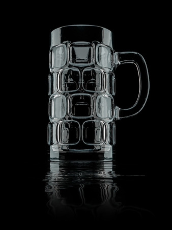 stein: An image of a typical bavarian big beer glass