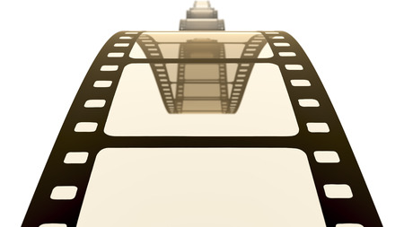 filmroll: An image of a vintage film strip background