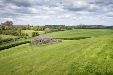 meath: An image of a scenery near Newgrange Ireland