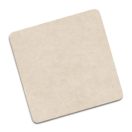 2d illustration of a blank coaster Stock Photo