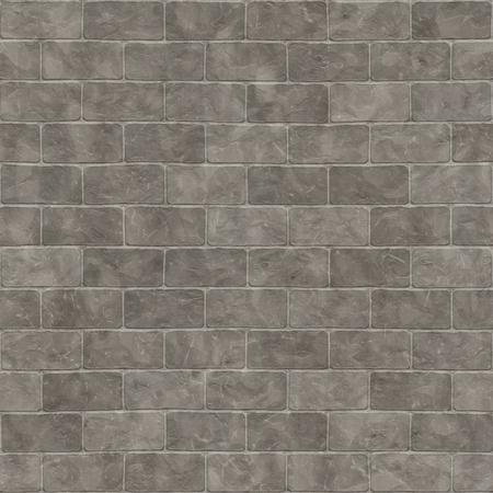 piso piedra: 2d ilustración de una pared de ladrillo gris sin fisuras