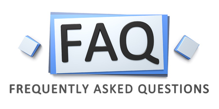 asked: 3d rendering of a questions and answers sign
