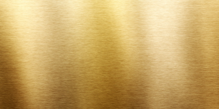 An image of a typical brushed brass texture Stock Photo