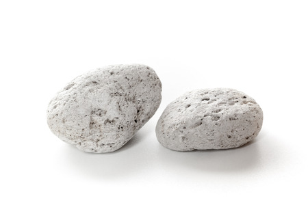 An image of two typical pumice stone Stock Photo