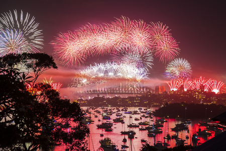 An image of a new year's eve firework