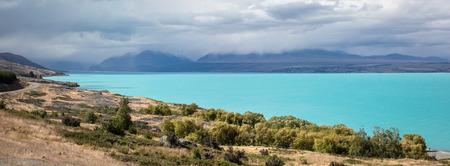 An image of a day at Lake Pukaki New Zealand