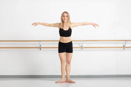 Ein Bild einer Tänzerin in Aktion