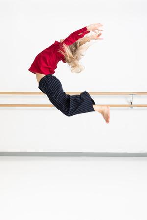 An image of a female dancer in action Reklamní fotografie - 121062057