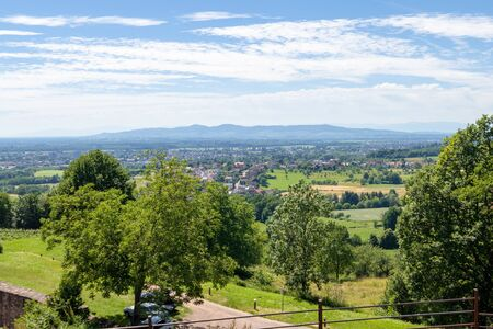 An image of a view from Castle Hochburg at Emmendingen Germany Imagens