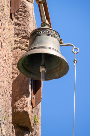 An image of the bell of the Castle Hochburg at Emmendingen Germany