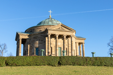 An image of the mausoleum at Rotenberg Germany near Stuttgart