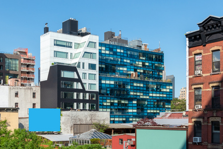 An image of a modern building in New York