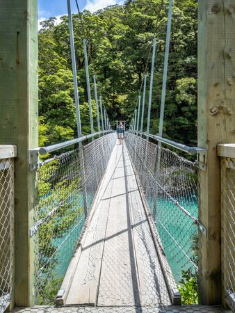 An image of the Haast River Landsborough Valley New Zealand