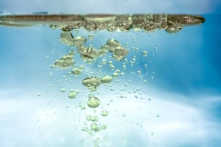 An image of a nice water oil bubbles background