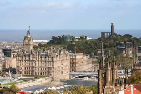 An image of Edinburgh capital city of Scotland Great Britain UK Stock Photo - 130128302