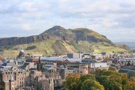 An image of Edinburgh capital city of Scotland Great Britain UK Stock Photo - 130128490