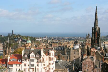An image of Edinburgh capital city of Scotland Great Britain UK Stock Photo - 130128553