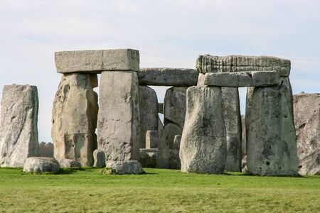 A photography of a the mystical Stonehenge Great Britain