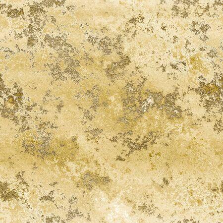 A bright yellow sand stone texture seamless illustration