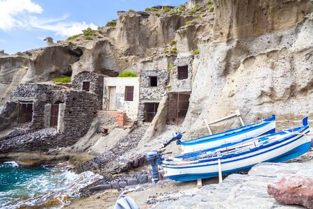 An image of lost places Lipari Island south Italy
