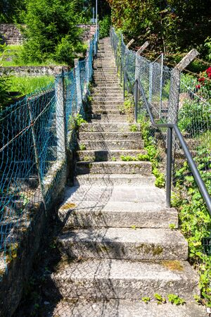 An image of the famous 100 steps in Calw Germany Archivio Fotografico