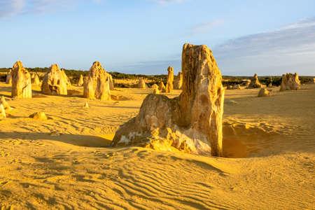 An image of the beautiful Pinnacles Desert in western Australia