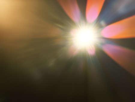 An image of a strange light flare background Stock Photo