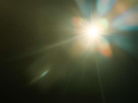 An image of a strange light flare background