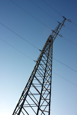 e survey: electricity Stock Photo