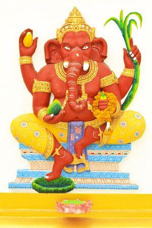 elephant head god photo