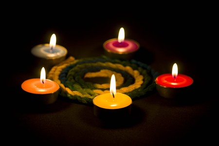 aroma candles photo