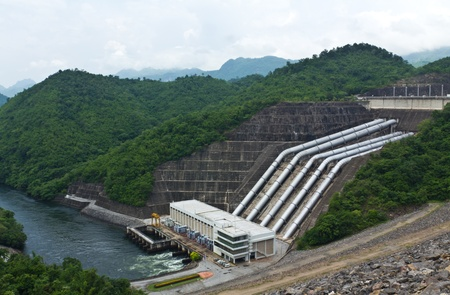 hydro power: Hydroelectric Powerplant in Thailand