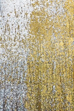 Sequin backdrop photo